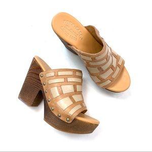Kork-Ease Charissa Leather Platform Sandals